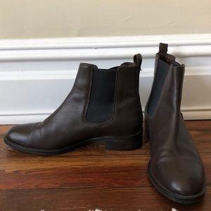 J. Crew Shoes - J. Crew Leather Chelsea Boots